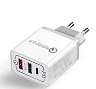 economico -27 W Potenza di uscita USB Caricatore veloce Caricatore del telefono Caricabatterie portatile Per Universale