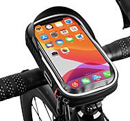 economico -/ Marsupio triangolare da telaio bici Riflessivo Ompermeabile Portatile Borsa da bici PU Marsupio da bici Borsa da bici Attività all'aperto Bicicletta