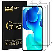 economico -Pellicola protettiva in vetro temperato ivoler 4 pezzi per samsung galaxy a12 / a32 5g / a42 5g / xiaomi mi 10 lite 5g / oppo a15, pellicola in vetro temperato durezza 9h, pellicola antigraffio,