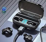 economico -Fineblue T8 Auricolari wireless Cuffie TWS Bluetooth 5.1 Design ergonomico Stereo Doppio driver per Apple Samsung Huawei Xiaomi MI Cellulare