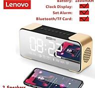 economico -Lenovo L022 Altoparlanti Altoparlante bluetooth senza fili Bluetooth Altoparlante Bluetooth Portatile Display dell'orologio Altoparlante Per PC Il computer portatile Cellulare