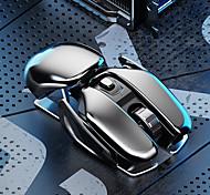 abordables -Souris sans fil 2.4G Rechargeable Souris silencieuse ergonomique Souris d'ordinateur portable de bureau Souris opto-électronique pour une utilisation à domicile