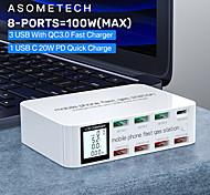 economico -100 W Potenza di uscita USB Caricatore USB Ricarica veloce Per Universale