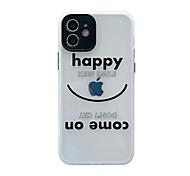 economico -telefono Custodia Per Apple Per retro iPhone 12 Pro Max 11 SE 2020 X XR XS Max 8 7 Resistente agli urti A prova di sporco Traslucido Giocare con il logo Apple Frasi famose TPU