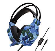 """economico -SOYTO SY850MV Cuffie da gioco """"Jack audio da 3,5 mm"""" Design ergonomico Controllo InLine per Apple Samsung Huawei Xiaomi MI PlayStation Xbox"""