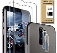 economico -telefono Proteggi Schermo Per XIAOMI Mi 11 Redmi Note 9T Mi 10 Pro Mi 10T 5G Redmi Note 9 4G Vetro temperato 4 pezzi Alta definizione (HD) Anti-graffi Proteggi-schermo frontale Appendini per cellulare