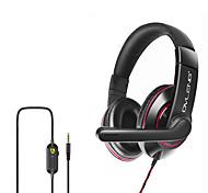 """economico -OVLENG OV-P5 Cuffie da gioco """"Jack audio USB da 3,5 mm"""" Design ergonomico Retrattile Stereo per Apple Samsung Huawei Xiaomi MI PC"""
