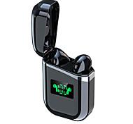 economico -A30-TWS Auricolari wireless Cuffie TWS Bluetooth5.0 Design ergonomico Stereo Doppio driver per Apple Samsung Huawei Xiaomi MI Cellulare