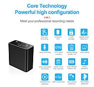 economico -Registratore vocale digitale Q65 32GB Portatile Registratore vocale digitale Lettore MP3 Pulsante Controllo