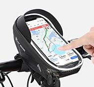 economico -/ Marsupio triangolare da telaio bici Riflessivo Ompermeabile Portatile Borsa da bici EVA Marsupio da bici Borsa da bici Attività all'aperto Bicicletta
