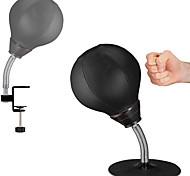 abordables -sac de boxe de bureau anti-stress-balle de bureau robuste anti-stress table de bureau balle de boxe balle de frappe réflexe sac de frappe et de tension est livré avec une pince de bureau et une forte