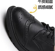 economico -scarpe in pelle per bambini, scarpe in pelle per studenti, scarpe nuove per la scuola primavera 2021, scarpe sportive nere stile britannico
