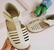 economico -2021 estate nuovo prodotto sandali per bambini in pelle microfibra versione coreana di sandali con tacco a borsa del tesoro con suola morbida in velcro