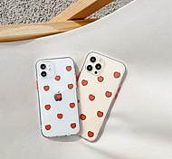 economico -telefono Custodia Per Apple Per retro iPhone 12 Pro Max 11 SE 2020 X XR XS Max 8 7 Portatile Resistente agli urti A prova di sporco Giocare con il logo Apple TPU