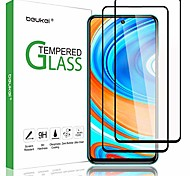 economico -telefono Proteggi Schermo Per XIAOMI Mi 11 Mi 10 Mi 10 Pro Redmi Note 9 Redmi Note 9 Pro Vetro temperato 2 pz Alta definizione (HD) Anti-graffi Proteggi-schermo frontale Appendini per cellulare