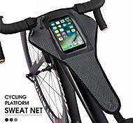 economico -/ Marsupio triangolare da telaio bici Ompermeabile Portatile Duraturo Borsa da bici Poliestere Marsupio da bici Borsa da bici Attività all'aperto Bicicletta