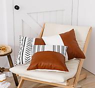 economico -fodera per cuscino doppio divano in pelle stampata tela di cotone geometrica