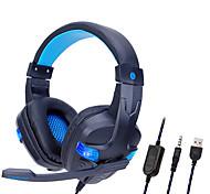 "economico -SOYTO SY860MV Cuffie da gioco ""Jack audio USB da 3,5 mm"" Design ergonomico Luci RGB Controllo InLine per Apple Samsung Huawei Xiaomi MI PlayStation Xbox"