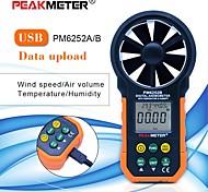 abordables -Sndway-sw6252a affichage couleur de poche anémomètres numériques jauge de vitesse du vent compteur échelle de vitesse du volume d'air max min moyen mesure