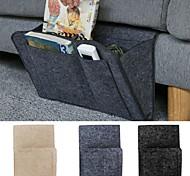 abordables -Télécommande suspendue caddy chevet canapé rangement organisateur support de lit poches lit poche canapé organisateur poches porte-livre