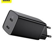 economico -BASEUS 65 W Potenza di uscita USB C Caricatore PD Caricatore veloce Caricatore del telefono Caricatore GaN Caricatore per laptop Caricabatterie portatile Multiuscita Ricarica veloce Per iPad