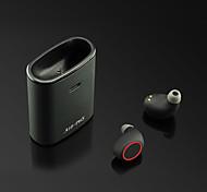 economico -A18-TWS Auricolari wireless Cuffie TWS Bluetooth5.0 Design ergonomico Stereo Doppio driver per Apple Samsung Huawei Xiaomi MI Cellulare