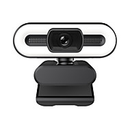 economico -Telecamera per computer 2k hd fotocamera usb fotocamera live con regolazione del contatto autofocus luce di riempimento