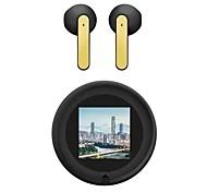 economico -DUNSPIN NR-740 Auricolari wireless Cuffie TWS Bluetooth 5.1 HIFI Sfondo personalizzato fai da te Bassi profondi per Apple Samsung Huawei Xiaomi MI Uso quotidiano Viaggi Jogging Cellulare