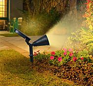 economico -applique solari per esterni ip65 lampada da terra per prato impermeabile rgb che cambia 4 perline a led faretti per paesaggi giardino prato decorazione del cortile luce esterna