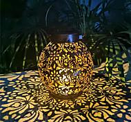 economico -luci solari luce notturna per esterni lampada da giardino impermeabile lanterne solari appese retro proiettore solare cavo luci con maniglia per recinzione albero cortile illuminazione paesaggistica