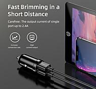 economico -AWEI 18 W Potenza di uscita USB Presa per caricabatteria USB per auto Caricatore veloce Caricabatterie portatile Per iPad Cellulari