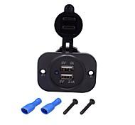 economico -5 W Potenza di uscita USB Caricatore per auto Caricatore veloce Caricabatterie portatile Per iPad Universale Cellulari