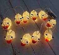 economico -luce stringa led 1.5m 3m led luce stringa pecora forma animale luce fata alimentata a batteria natale camera dei bambini lampada decorazione della casa
