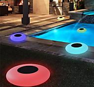 economico -luci solari esterne energia solare luci galleggianti della piscina luce solare della piscina luce solare esterna cambiante variopinta ip68 impermeabile luci principali per la piscina del patio