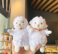 economico -peluche carino bambola agnello portachiavi coppia ciondolo creativo ciondolo chiave borsa scuola bambola portachiavi bambola