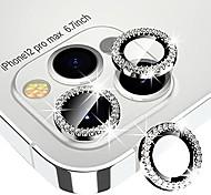 economico -xfilm diamante protezione per obiettivo della fotocamera per iphone 12 pro max, protezione dello schermo in vetro temperato trasparente hd + copertura dell'anello dell'obiettivo in lega completa,