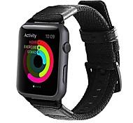 economico -Cinturino intelligente per Apple  iWatch 1 pcs Cinturino sportivo Nylon Tela Sostituzione Custodia con cinturino a strappo per Apple Watch Serie SE / 6/5/4/3/2/1