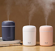 economico -2pz portatile 300 ml umidificatore usb ultrasonico abbagliante tazza aroma diffusore freddo creatore di nebbia umidificatore purificatore d'aria con luce romantica