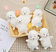 economico -nuove bambole portachiavi agnello studente creativo carino peluche portachiavi ciondolo donna piccola borsa ornamenti