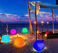 economico -luce esterna impermeabile rgb led alimentato solare 1pc 2pcs gioca a palla per piscina lampada a sfera galleggiante rgb giardino di casa ktv bar festa di nozze vacanza decorativa illuminazione estiva