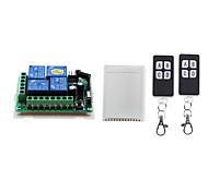 economico -dc12v 4ch rf telecomando senza fili interruttore/10a relè on off ricevitore/codice di apprendimento 433 mhz/momentaneo/toggle/latched può cambiare