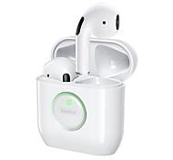 economico -Remax TWS-35 Auricolari wireless Cuffie TWS Bluetooth 5.1 Design ergonomico Stereo Controllo vocale Hey Siri per Apple Samsung Huawei Xiaomi MI Cellulare
