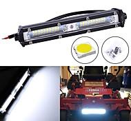 economico -1pc 60w 7 pollici led light bar 20led combo guida led lavoro light bar per universale 4x4 fuoristrada suv atv 4wd camion trattore 12v 24v