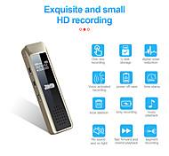 economico -Registratore vocale digitale LITBest Q7 32GB Portatile Registratore vocale digitale Registrazione Lettore MP3 Ricaricabile per Viaggi Incontro
