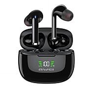 economico -AWEI TA8 Auricolari wireless Cuffie TWS Bluetooth 5.2 Stereo Dotato di microfono IPX4 impermeabile per Apple Samsung Huawei Xiaomi MI Uso quotidiano Viaggi All'aperto Cellulare