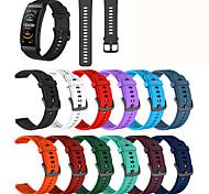economico -Cinturino intelligente per Huawei 1 pcs Cinturino sportivo TPE Sostituzione Custodia con cinturino a strappo per Huawei Band B6