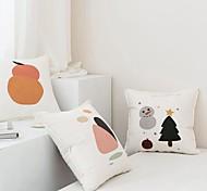 economico -cuscino di stampa fronte-retro in lana di cotone lavorato a maglia cuscino a blocchi di colore del fumetto cuscino a mano libera decorazione della stanza dei bambini resto della vita