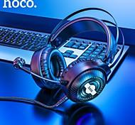 economico -HOCO W101 Cuffie da gioco Cuffie USB da 3,5 mm Microfono da 3,5 mm Desktop Computer Design ergonomico Stereo Dotato di microfono per Apple Samsung Huawei Xiaomi MI PC