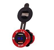economico -17 W Potenza di uscita USB Caricatore per auto Caricatore veloce Caricabatterie portatile Per iPad Universale Cellulari