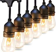 economico -luce della stringa impermeabile led lampadina al tungsteno s14 5m-10leds 10m-20 led lampada della stringa decorazione del giardino esterno e27 base tendone patio decorazione di festa di nozze luce